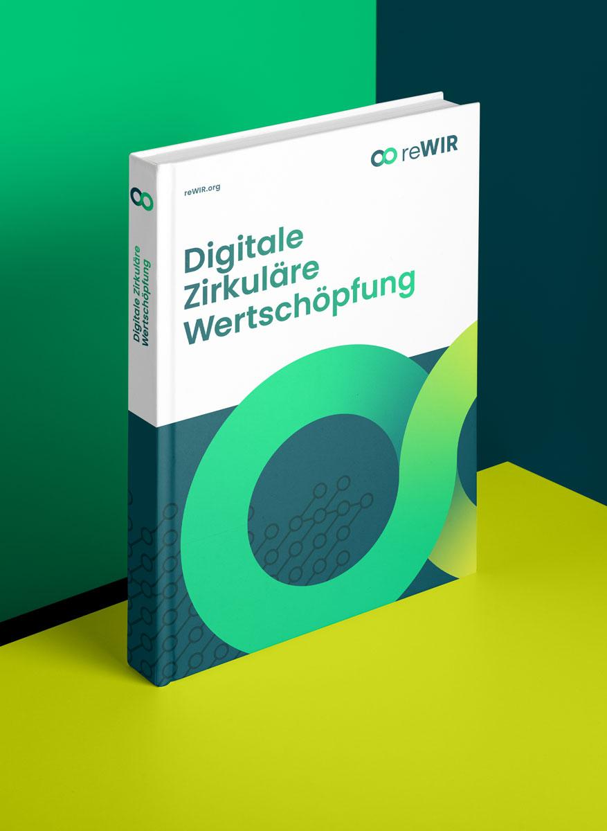 Coverdesign für Forschungsbericht im reWIR Corporate Design